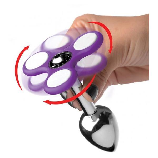Ass-spinner Fidget Spinner Anal Plug