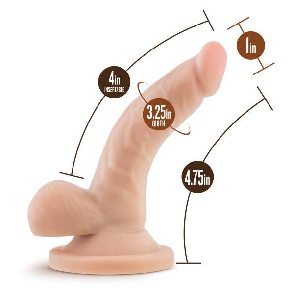 """Dr Skin 4 Mini Cock Vanilla """""""