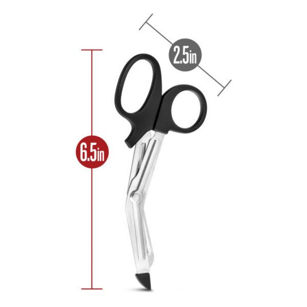 Temptasia Safety Scissors Black