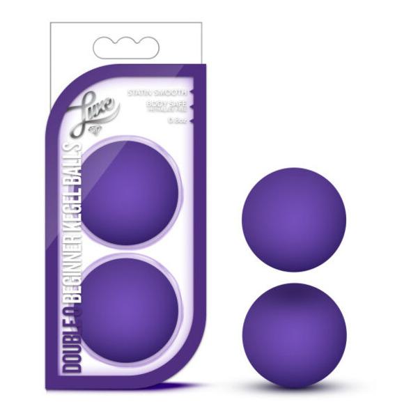 Luxe Double O Kegel Balls 0.8 Oz Purple