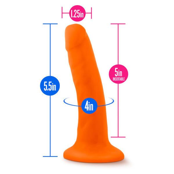 """Neo 5.5 Dual Density Cock Neon Orange """""""