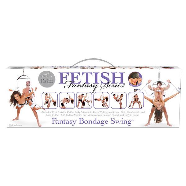 Fetish Fantasy Bondage Swing White
